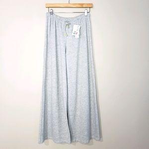 Bluana Small Grey Wide Leg NWT Joggers Sweat Pants